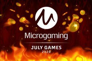 โฮสต์คาสิโนออนไลน์ชื่อดังจาก Microgaming ในเดือนกรกฎาคม