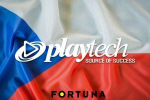 Playtech ขยายความร่วมมือ Fortuna CZ ด้วยการรวมแอพคาสิโนดั้งเดิม